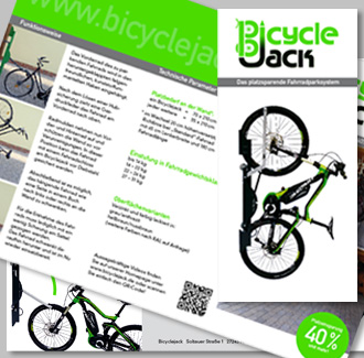 bicycle jack folder